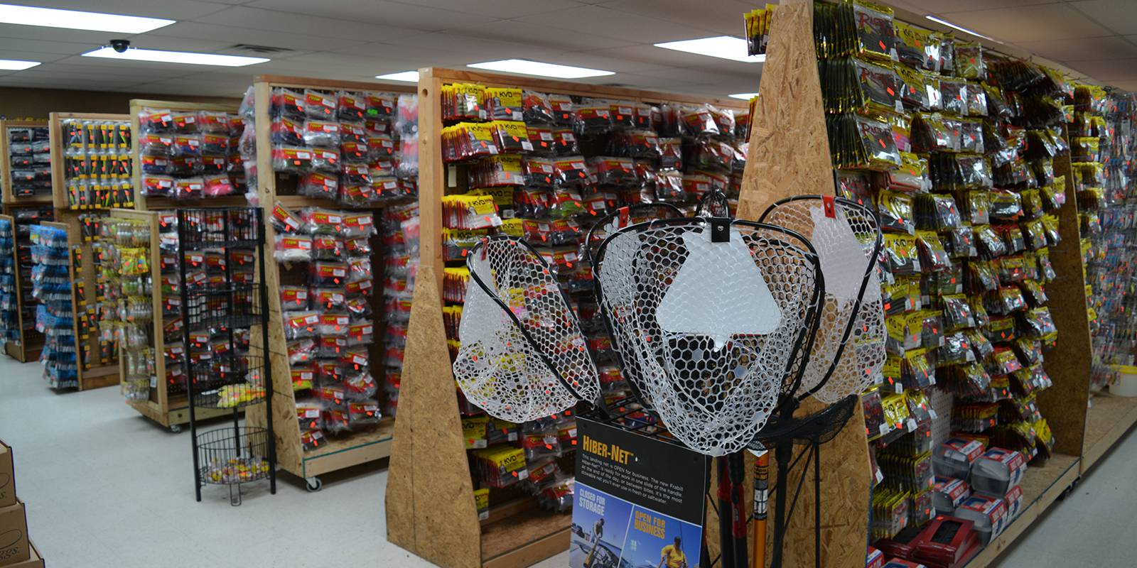 Largest Fishing Supplier in the Area. Rods, Reels, Lures, Assorted Gear, Etc.